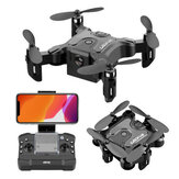 4DRC V2 Mini 3 WiFi FPV dengan 720 P HD Kamera Mode Tahan Ketinggian Lipat Nano Pocket RC Drone Quadcopter RTF