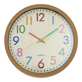 Silent Non-Ticking Quartz Kid Wall Clock Decorative Indoor Quartz Analogue Clock