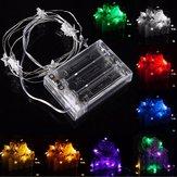 3m 30 LED batteria luce della stella fata della stringa per la decorazione di Natale partito weddinng