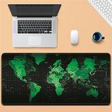 Duża podkładka pod mysz Mocna antypoślizgowa mapa świata Podkładka pod mysz z gumy naturalnej do domowego biura komputerowego