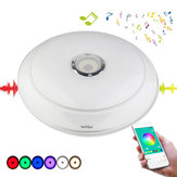 YouOKLight 36W RGB Dimmable Bluetooth Speaker Music LED Ceiling Light APP Control Lamp AC220V