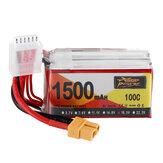 ZOP Power 18.5V 1500mAh 100C 5S Lipo-batterij XT60-stekker voor RC Racing Drone