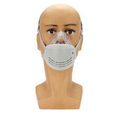 Anti Dust Face Mask Mouth PM2.5 Anti Fog Haze Respirator with Electrostatic KN95 Filter