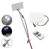 ZANLURE Lâmpada de pesca Car Rod Light RF remoto Controlador de iluminação exterior Lanterna de acampamento