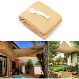 3x3M/4M 280gsm HDPE UV Sun Shade Sail Cloth Canopy Outdoor Patio Square Rectangle Awning Shelter