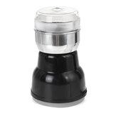 مطحنة القهوة الكهربائية 220 فولت 200 واط طحن الفول الجوز التوابل ماتي شفرة خلاط