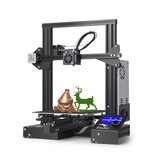 Creality 3D® Ender-3 DIY 3D Printer Kit 220x220x250mm Printing Size With Power Resume Function/V-Slot with POM Wheel/1.75mm 0.4mm Nozzle