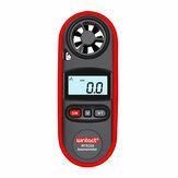 Miernik prędkości wiatru WT816A IP67 Wodoodporny z podświetleniem Wyświetlanie pomiaru temperatury Sześć jednostek prędkości powietrza M / s Km / h ft / min Węzłów mph bft