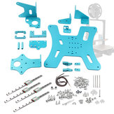 BLV Ender-3 Pro/Ender-3 DIY Upgraded Kit with XY Axis Belts Screws Aluminum Plate Linear Guide Slider