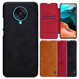 Nillkin for Xiaomi Poco F2 Pro Case Bumper Flip Shockproof with Card Slot Full Cover PU Leather Protective Case Non-original