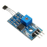 5pcs 5V/3.3V Speed Measurement Hall Sensor Module Hall Switch Motor Tachometer Module For DIY