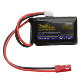 Tiger Power 7.4V 550mAh 60C 2S Lipo Батарея JST Plug