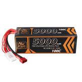 ZOP Power 14.8V 5000mAh 100C 4S  Lipo Battery T Deans Plug for RC Car