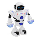 Astronaut Robot Toy Dancing Walking Flashing Lights Sounding Kids Toy