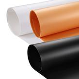 PULUZ PU5201 80x40cm Photographie Fond Écran Toile de Fond Studio Couleur Pure PVC Papier Kits