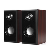 D92 USB Wired Multimedia Wooden Computer Speaker Stereo Subwoofer Loudspeaker for Desktop Computer PC Laptop