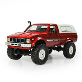 WPL C24 1/16 RTR 4WD 2.4G Military Truck Crawler Off Road RC Car 2CH Toy