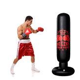 1.6 متر قائم بذاته قابل للنفخ كيس ملاكمة ملاكمة تدريب ركلة تدريب منزلي رياضة سليمالجسم أدوات للبالغين أطفال