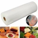 Große Größe 28x1500 cm Vakuumdichtung Rolle Tasche Lagerung Lebensmittelretter Küche Kunststoff Heißsiegel Taschen einfrieren