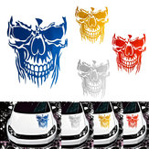 23 x 29,5 cm Skull Hood Auto Stickers Vinyl Decals Auto Body Truck Achterklep Window Door Universal