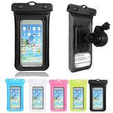Universal-wasserdicht versiegelt Telefon-Beutel-Fahrrad-Halter für 6 bis 6.5 Inch