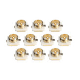 10 PCS U.FL IPEX IPX Connector with Mounting Pedestal Plate SMT Solder Paster 20279-001E-01 for FPV Antenna RC Drone