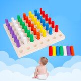 Table Blocks Baby Wooden Toys Toy Montessori Gifts Education Puzzle Early for Intelligence Child Toy Gift