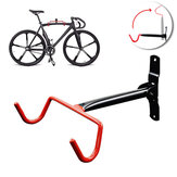 Max Load 15KG Adjustable Wall Mount Bike Bicycle Hook Rack Hanger Cycling Flip Up Storage Garage Holder