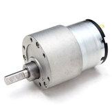 CHIHAI MOTOR 4 Adet 12 V 80 RPM DC Metal Dişli Redüktör Motor GM37-3525 Yüksek Tork DC Dişli Motor