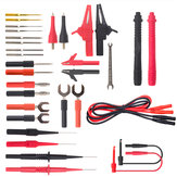 ML-1708 32P-1 Combined Multimeter Test Line Banana Plug Silicone Pen Line U-type Fork Test Pin Alligator Clip Test Cable