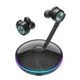 BlitzWolf® BW-FLB3 Gaming TWS bluetooth V5.0 Λειτουργία ακουστικών RGB Light Wireless Headphone με αποσπώμενο μικρόφωνο