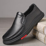 Original              Men Round Toe Classic Business Casual Leather Shoes