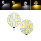 G4 3W Dimmable SMD5050 24LEDs Branco Quente Branco Puro Branco Ligth Bulbo DC12V