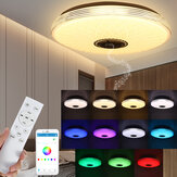 40cm 85-265V Bluetooth LED Ceiling Light 256 RGB Music Speeker Dimmable Lamp 2.4GHz Remote