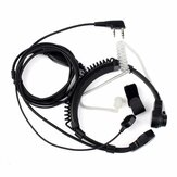 Retevis 2 Pin Throat Walkie Talkie Accessoires Headset Voor Baofeng UV 5R Retevis H777 RT5R Voor Kenwood Voor TYT Two Way Radio C9026A