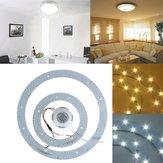 23w 5730 smd LED double cercle panneau lampe luminaires panneau de plafond annulaire