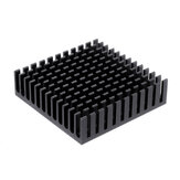 40mm * 40mm * 11mm Black Heatsink for Stepper Motor 3D Printer Part