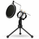 Yanmai PS-3 Microphone Stand Holder Tripod Microphone Accessories with Microphone Filter