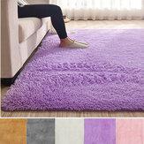 120x170cm Soft Fluffy Floor Rug Shag Shaggy Area Rug Bedroom Dining Room Carpet Yoga Mat Child Play Mat