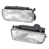 Car Front Bumper Fog Lights Clear Lens Cover Pair for BMW E36 3-series 318i 323i 325i 1992-1998