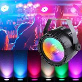 30W RGB + UV COB LED RGB Stage Light DMX Afstandsbediening DJ Bar Disco KTV Party Kerstmis