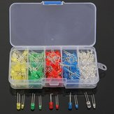 300Pcs 3mm 5mm LED Diode 10 Values Assortment Kit