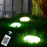 Solarbetriebene Außenanlagen LED Stone Garden Lights Lawn Waterproof Decorative Pebbles