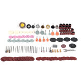 159pcs Electric Grinder Accessory Polishing Wheel Grinding Wheel Kit for Rotary Power Drill