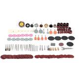 159 sztuk szlifierka elektryczna akcesoria zestaw ściernicy do polerowania do obrotowej wiertarki elektrycznej