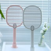 3life Electric Mosquito Swatter Moskito Dispeller wiederaufladbar LED Electric Insect Bug Fly Moskito Killer Racket 3-Lagen-Netz
