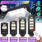 208/416/624/832 LED Solar Street Light PIR Bevægelsessensor Havelampe m / fjernbetjening