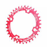 BIKIGHT BCD104 Chainring 32/34/36/38T Mountain Bike Discs Bike Components Round Narrow Wide Chainring Bicycle Chainwheel