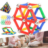 103PCS Magnetic Building Blocks Set Construction DIY Sticks For Kids Children Educational Gift Toys