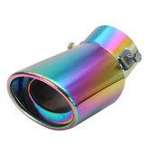 60 millimetri in acciaio inox silenziatore del tubo universale curvo di scarico auto per Chevrolet toyota guado Suzuki